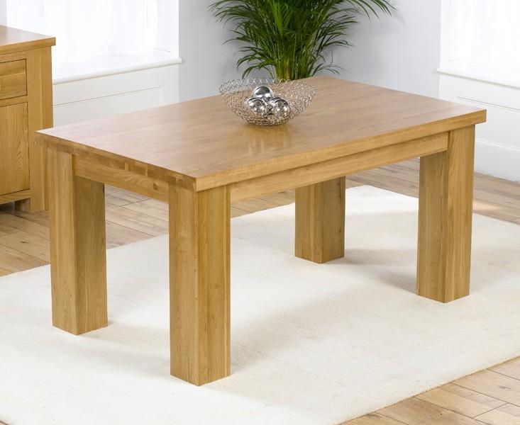 Mark Harris Barcelona Solid Oak Dining Table - 180cm