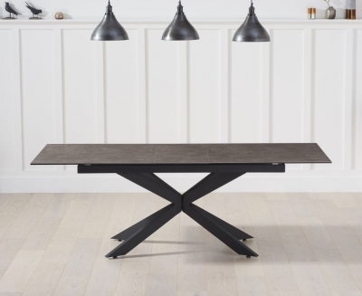 Mark Harris Britolli Extending Dining Table - Mink Ceramic