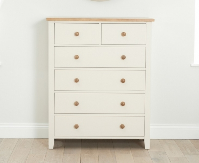 Mark Harris Camberwell Painted 2 Over 4 Chest of Drawer