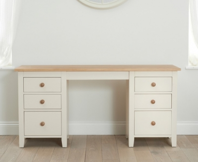 Mark Harris Camberwell Painted Double Pedestal Dressing Table