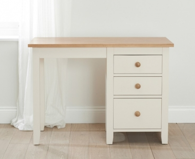 Mark Harris Camberwell Painted Single Pedestal Dressing Table