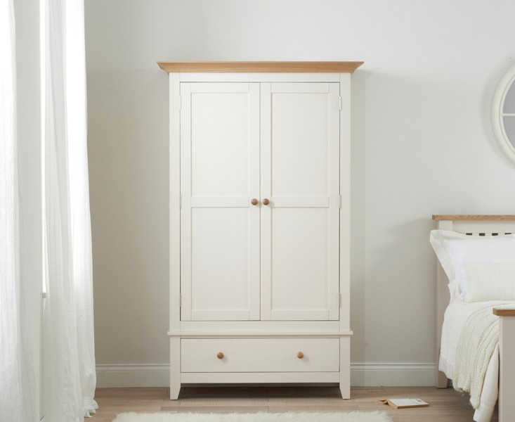 Mark Harris Camberwell Painted 2 Door 1 Drawer Wardrobe