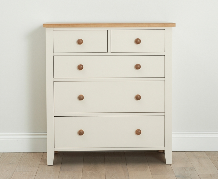 Mark Harris Camberwell Painted Chest of Drawer - 2 Over 3 Drawer