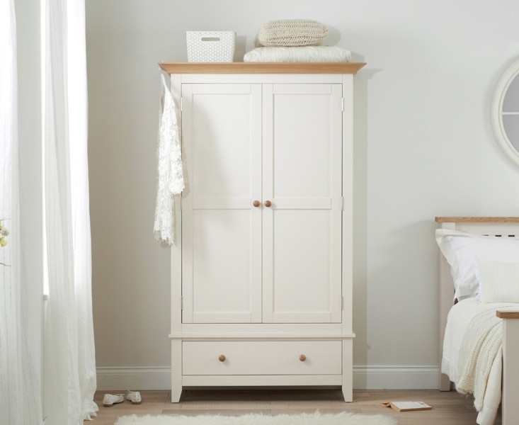 Mark Harris Camberwell Painted Wardrobe - 2 Door 1 Drawer