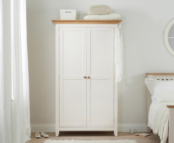 Mark Harris Camberwell Painted Wardrobe - Full Hanging