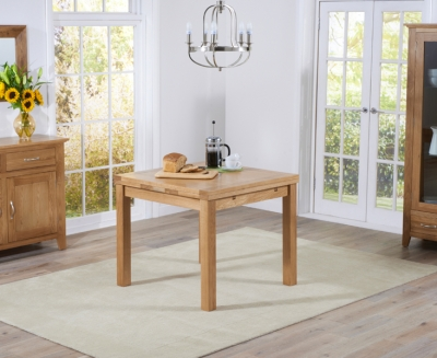 Mark Harris Cambridge Oak Square Extending Dining Table