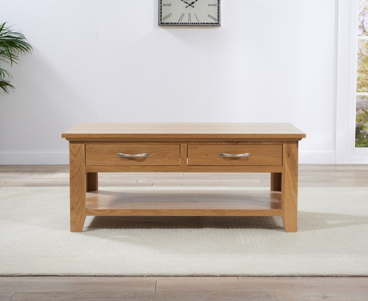 Mark Harris Cambridge Oak Coffee Table - 2 Drawer