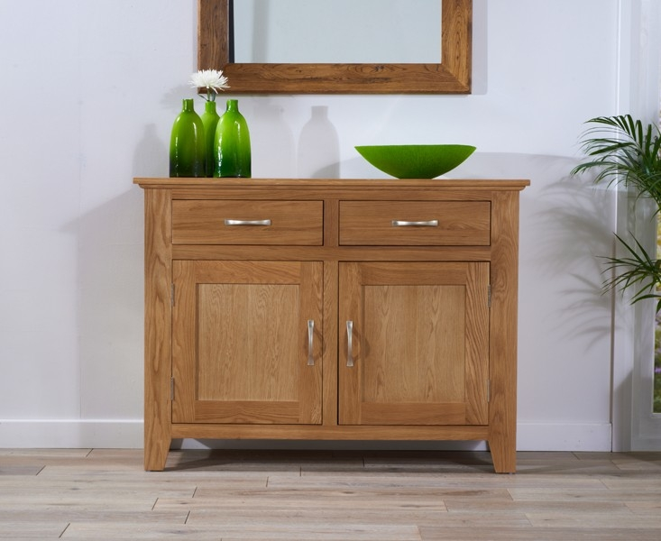Mark Harris Cambridge Oak Sideboard - Medium 2 Doors 2 Drawers