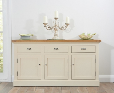 Mark Harris Cavanaugh Oak and Cream Large Sideboard