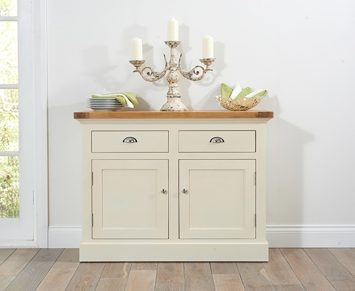 Mark Harris Cavanaugh Oak and Cream Medium Sideboard