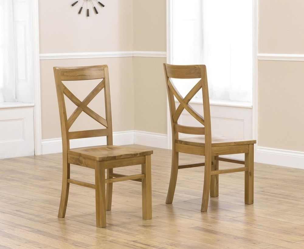 Mark Harris Cavanaugh Oak Dining Chair (Pair)