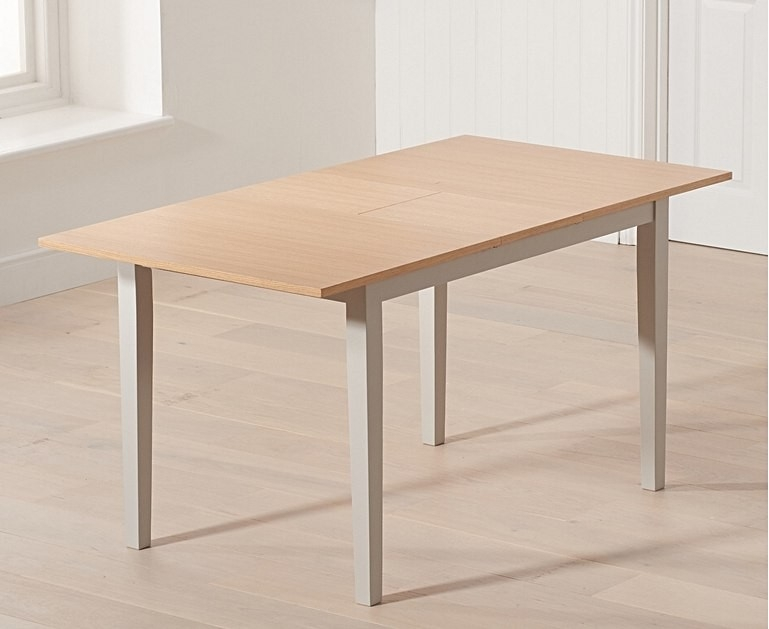 Mark Harris Chichester Oak and Grey Extending Dining Table