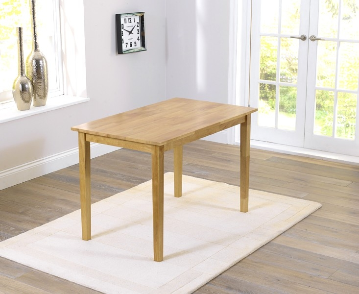 Mark Harris Chichester Solid Hardwood Dining Table - 115cm Rectangular