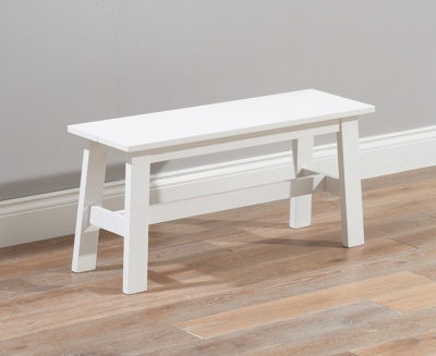 Mark Harris Chichester White Dining Bench