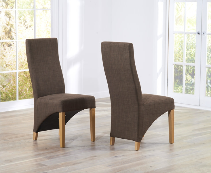 Mark Harris Harley Cinnamon Dining Chair (Pair)
