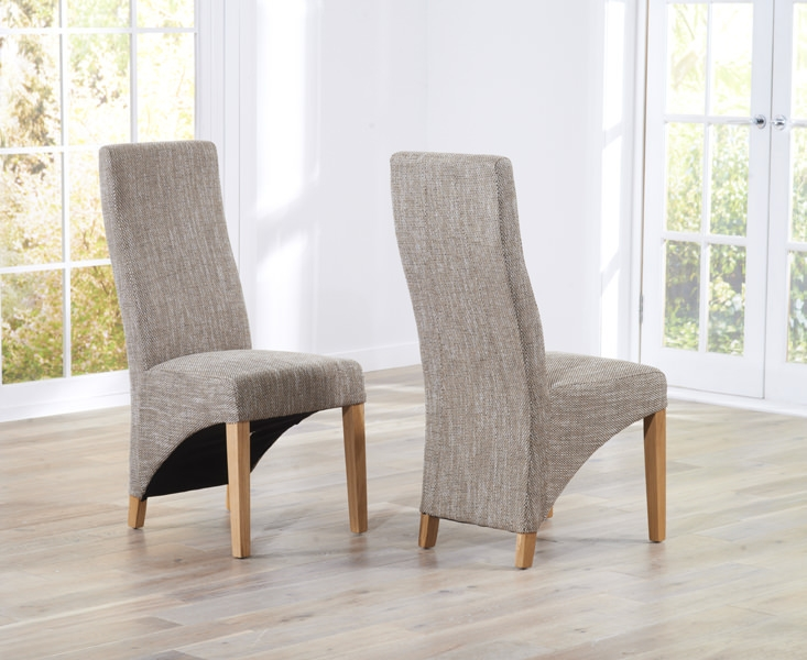 Mark Harris Harley Tweed Dining Chair (Pair)