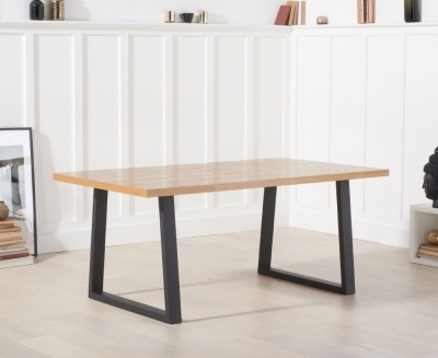 Mark Harris Uma Dining Table - Wood and Metal