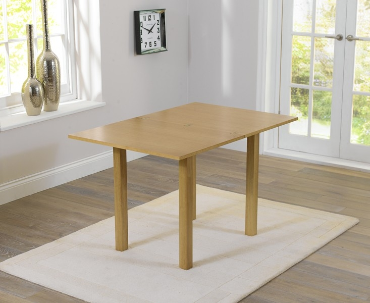 Mark Harris Hove Solid Hardwood Dining Table - 60cm Rectangular Extending