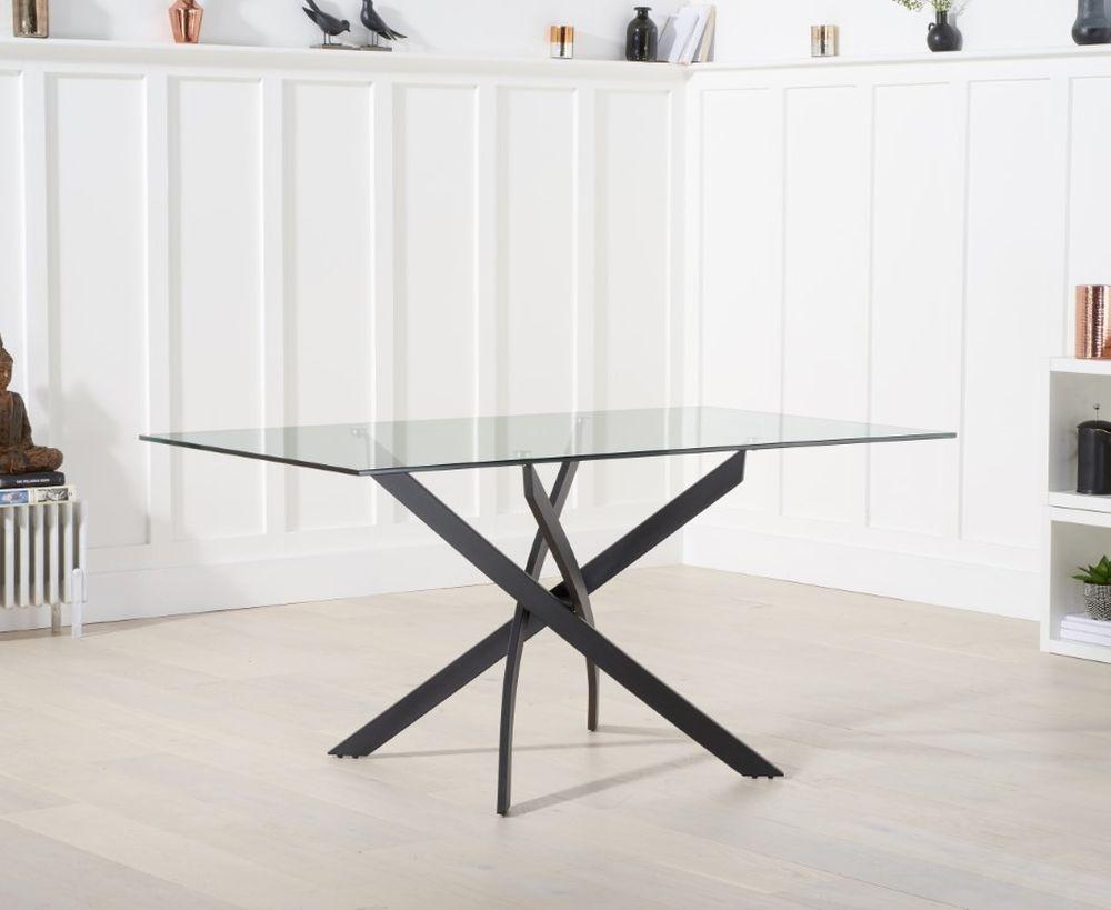Mark Harris Marina Glass Dining Table