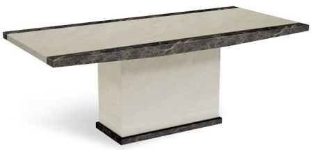 Mark Harris Merida Marble Dining Table - 160cm Medium