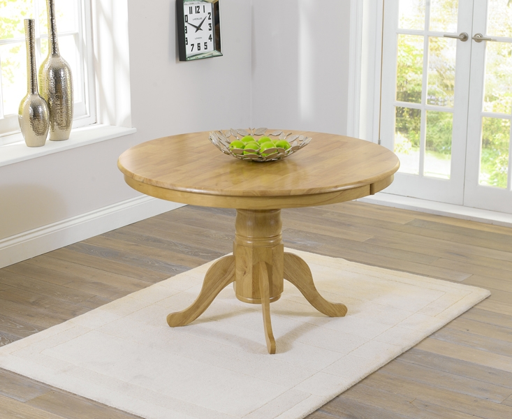 Mark Harris Elstree Solid Oak Dining Table - 120cm Round