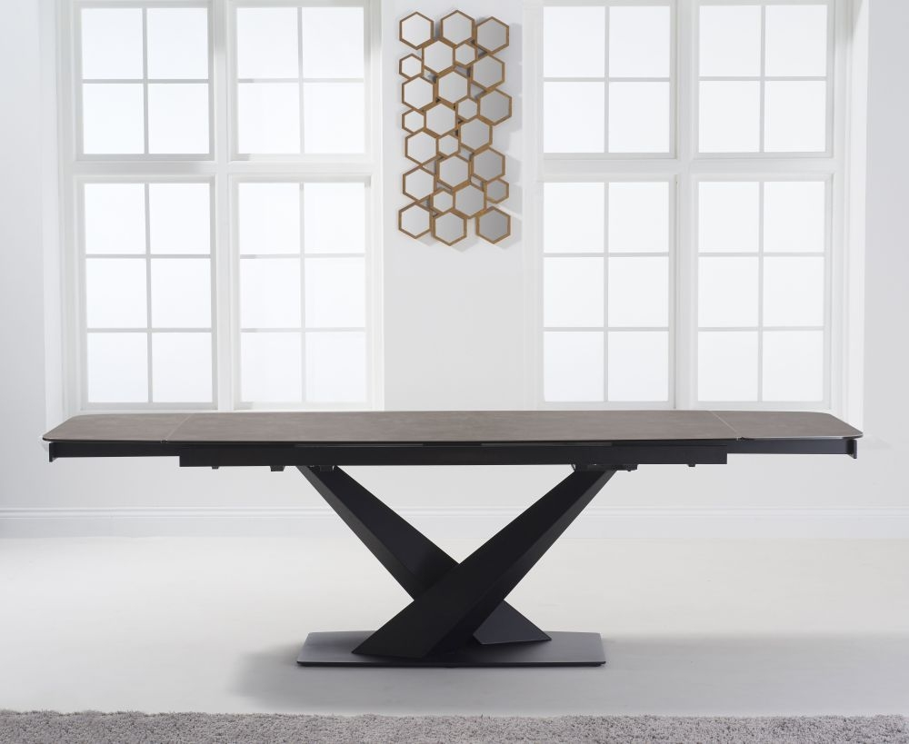 Mark Harris Jack Mink Ceramic 180cm Extending Dining Table