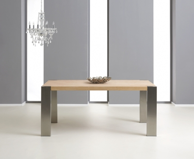 Mark Harris Knightsbridge Oak Extending Dining Table