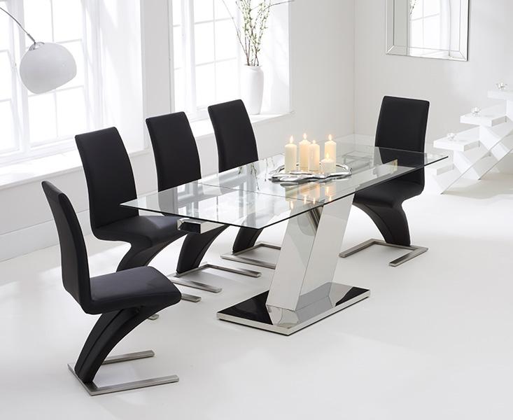 Mark Harris Lamont Glass Dining Set