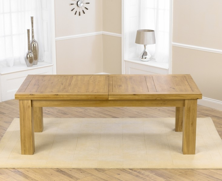 Mark Harris Laurent Solid Oak Dining Table - 230cm Extending