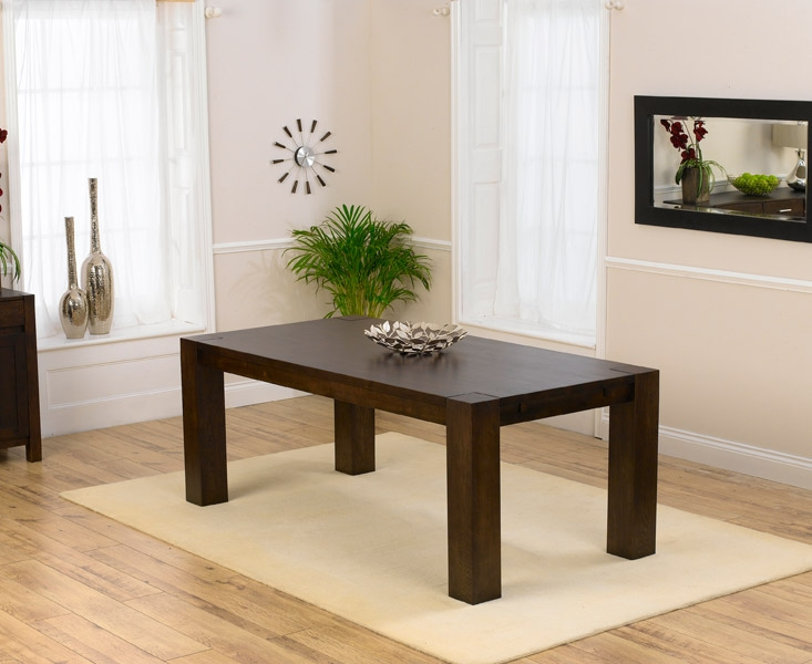 Mark Harris Madrid Dark Oak Dining Table