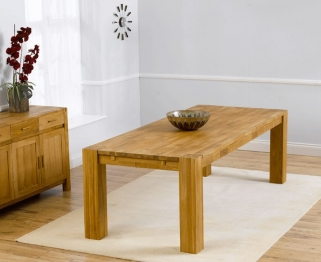 Mark Harris Madrid Solid Oak 240cm Dining Table