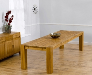 Mark Harris Madrid Solid Oak 300cm Dining Table