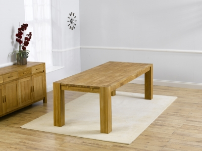 Mark Harris Madrid Oak Large Extending Dining Table