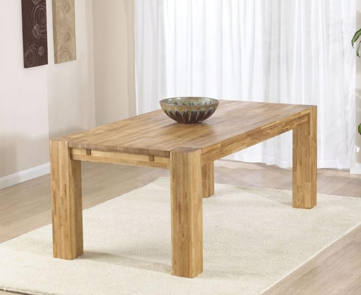 Mark Harris Madrid Solid Oak 200cm Dining Table