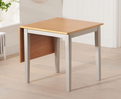 Mark Harris Mara Oak and Grey Extending Dining Table