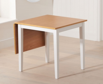 Mark Harris Mara Oak and White Extending Dining Table