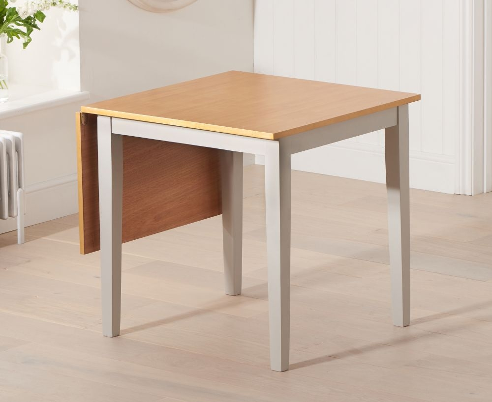 Mark Harris Mara Extending Dining Table - Oak and Grey