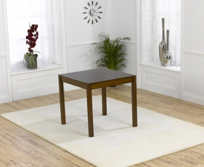 Mark Harris Marbella Dark Oak Square Dining Table