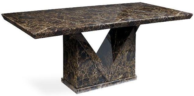 Mark Harris Minsk Marble Dining Table - 180cm