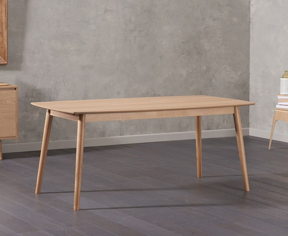 Mark Harris Newark Oak Dining Table - 180cm Rectangular