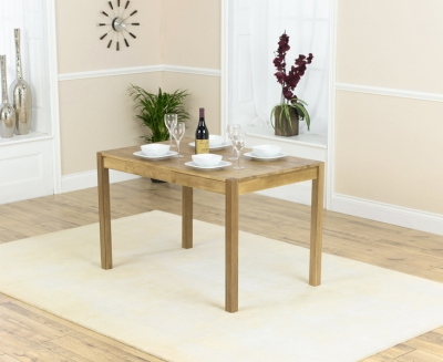 Mark Harris Promo Solid Oak 120cm Dining Table