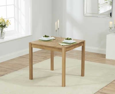 Mark Harris Promo Oak Square Dining Table