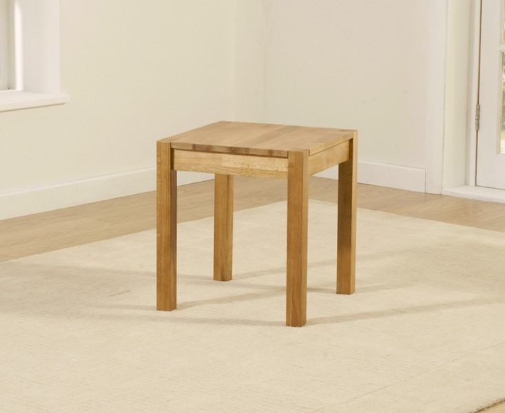 Mark Harris Promo Oak Lamp Table
