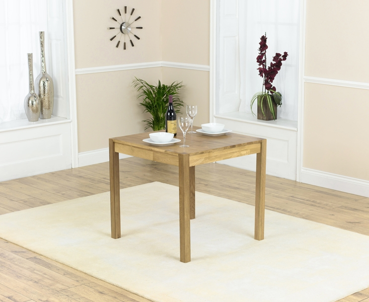 Mark Harris Promo Solid Oak 80cm Dining Table