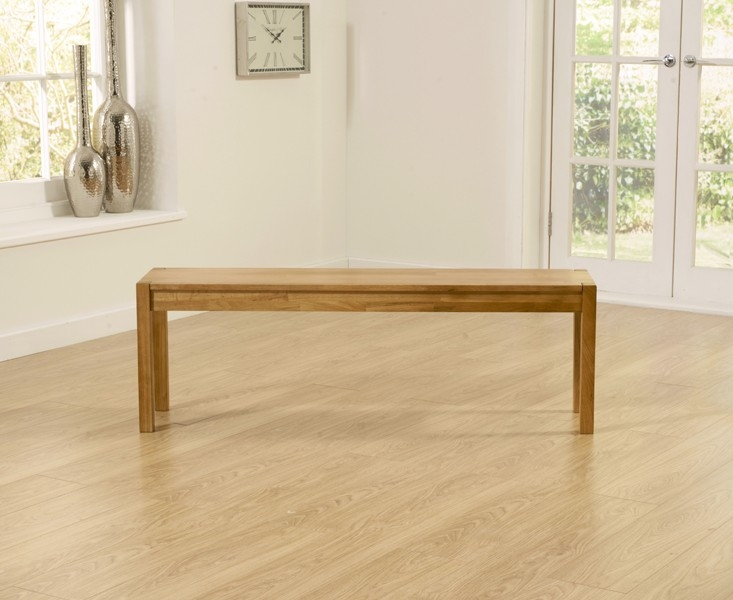 Mark Harris Promo Oak Large Bench