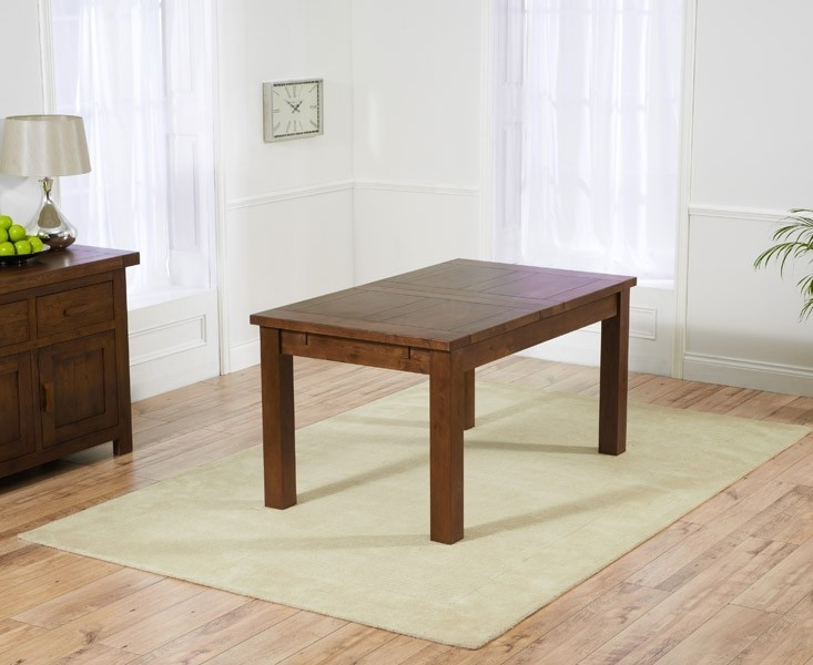 Mark Harris Rustique Dark Oak Medium Extending Dining Table