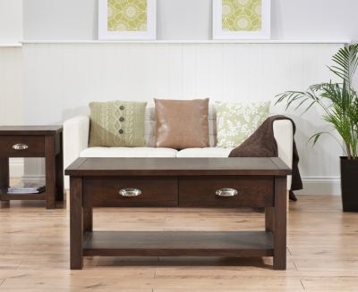 Mark Harris Sandringham Solid Dark Oak Coffee Table