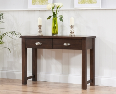 Mark Harris Sandringham Solid Dark Oak Console Table