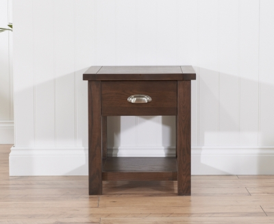 Mark Harris Sandringham Solid Dark Oak Lamp Table