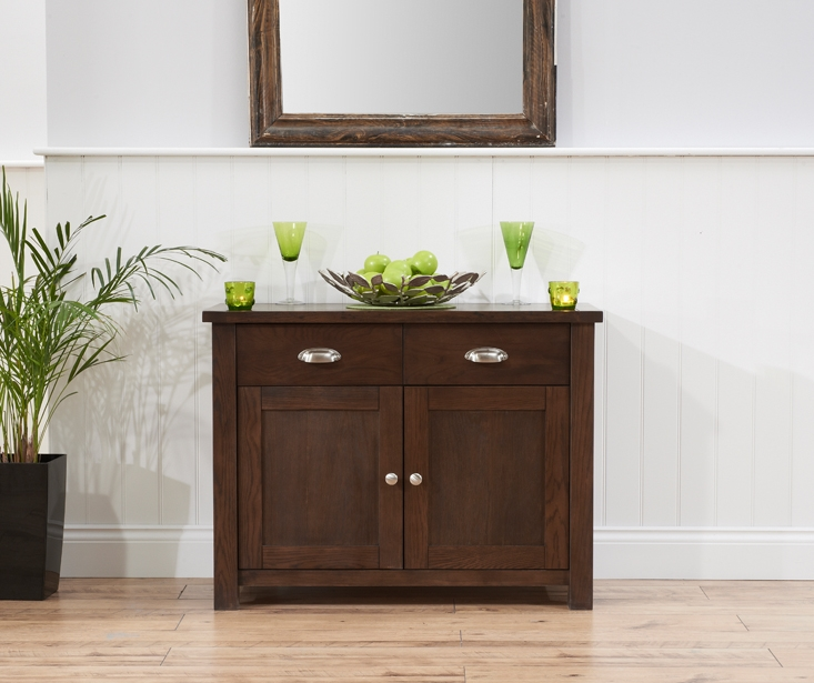 Mark Harris Sandringham Solid Dark Oak Sideboard with 2 Door and 2 Drawer